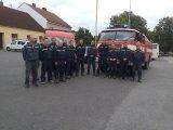 SDH Bernartice uctilo památku hasičů v Koryčanech