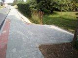 Nový chodník v ulici Pod Stadionem