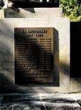 pomník 1.sv.v.