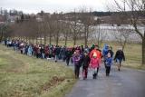 Silvestrovský pochod kolem Bernartic 2017
