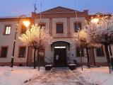 Zima s přídělem sněhu dorazila i do Bernartic