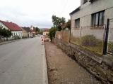 Chodníky na Bechyňské ulici